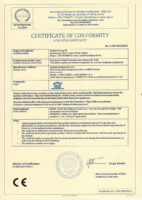Международный сертификат CE