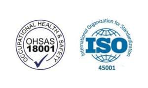 Сертификат ISO 45001 (OHSAS 18001)